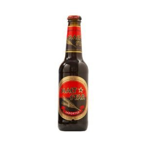 Malt Star (Black Beer) 6 pack - בירה שחורה מאלט