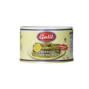 Galil - Stuffed Grape Leaves, 14-Ounces - עלי גפן ממולאים