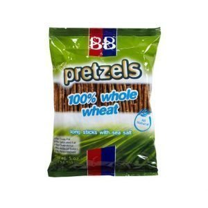 Beigel Beigel - Pretzels, 100% Whole Wheat, long sticks with sea salt. - בייגלה דק עם מלח