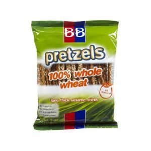 Beigel Beigel - Pretzels, 100% Whole Wheat, long thick sesame sticks. - בייגלה ארוך דק