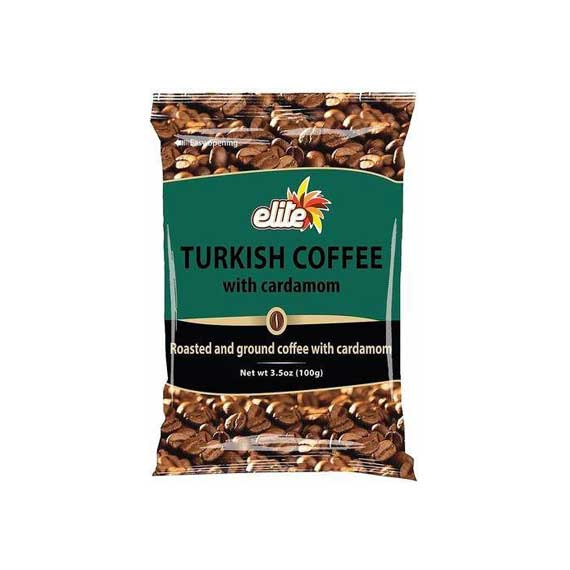 Elite - Turkish Coffee Bag w/ Cardamom, 3.5-ounces - קפה טורקי עם הל