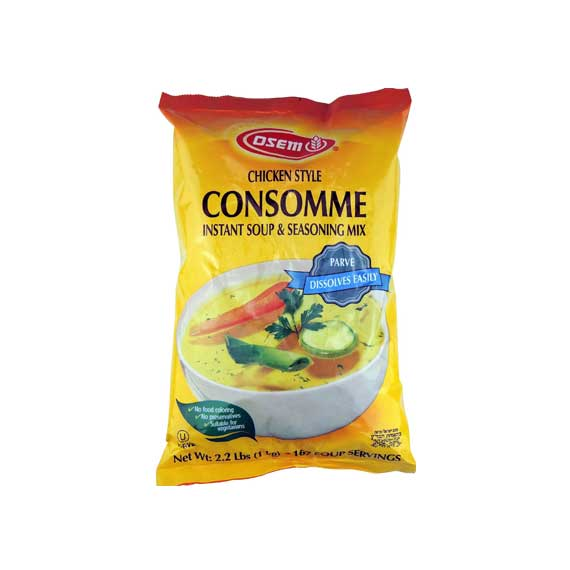 Osem- Soup & Seasoning Mix, Chicken Style Consomme, 2.2 lb bag. - תבלינים לתיבול מרק עוף