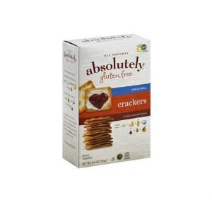 Absolutely - Gluten free Crackers, original, 4.4 Ounces. - קרקרים ללא גלוטן - קלאסי