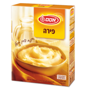 פירה מוכן אסם, instant mashed potatoes Osem