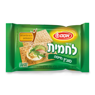 Osem Sunny Wheaten Cracker, 8.8-Ounce Package - קרקרים של אסם