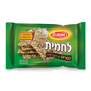 Osem - Sunny Wheat Cracker, Whole Grains & Multi Seeds, 6.7-Ounce Package - קרקר חיטה