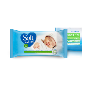 Softcare - Baby Wipes Fragrance Free