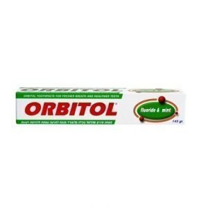 orbitol mint toothpaste