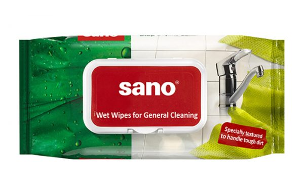 Sano - Wet Wipes for General Cleaning