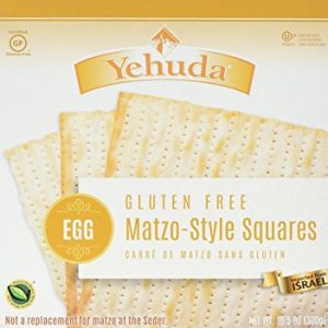 Yehuda - Gluten Free Matzo-Style Squares egg (Kosher for Passover) 10.5 Ounces