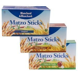 BLANCHARD & BLANCHARD- CRACKERS- MATZO STICKS WHOLE WHEAT