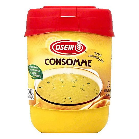 Osem- Soup & Seasoning Mix, Consomme, 14.1-Ounce Container