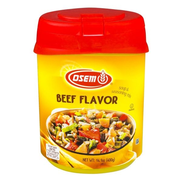 Osem- Soup & Seasoning Mix, Beef Flavor 14.1-Ounce Container