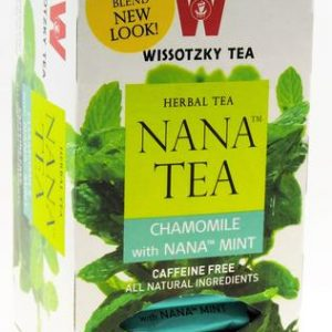 Wissotzky NANA TEA - Chamomile With Nana Mint / Box of 20 bags