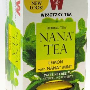 Wissotzky - NANA TEA - Lemon with Nana Mint / Box of 20 bags