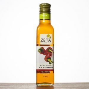 Zeta Extra Virgin Olive Oil - with Hot Pepper 250ml