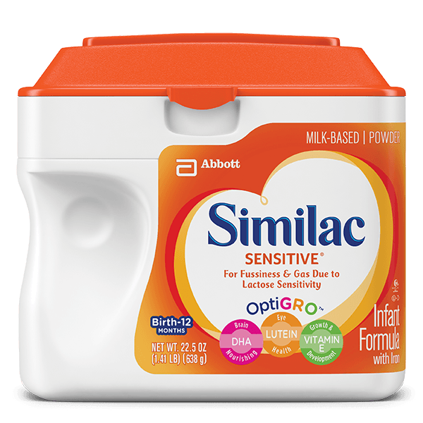 Similac - Sensitive Infant Formula with Iron