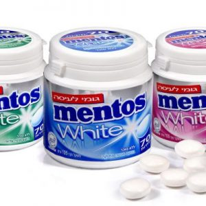 Mentos White - Chewing Gum (K)
